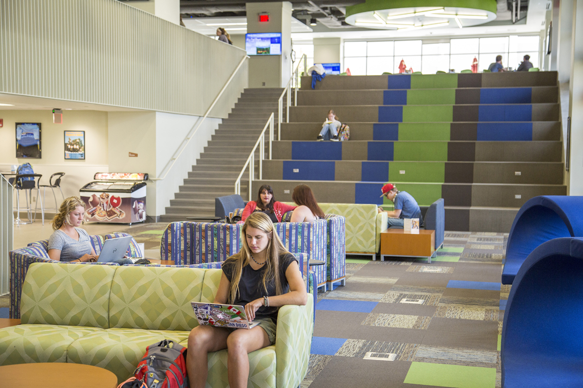 Students Studying at Sheridan College