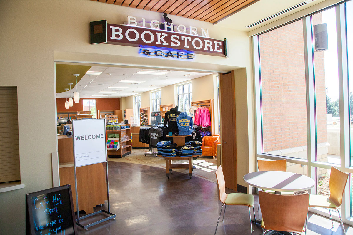 Sheridan College bookstore Wyoming