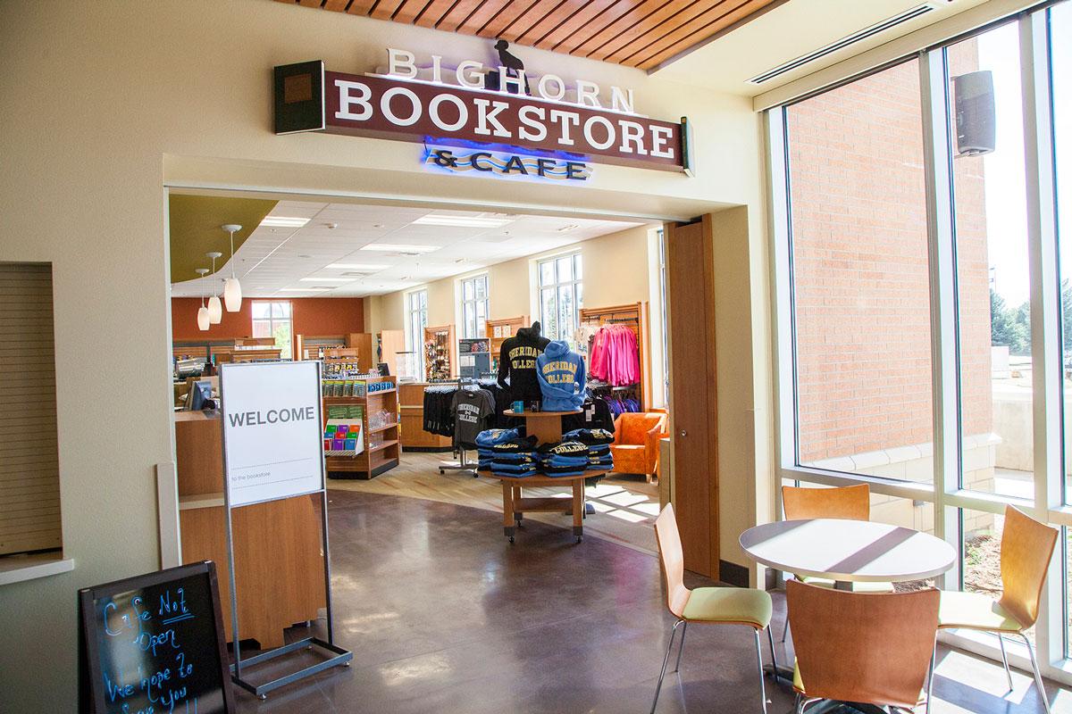 Sheridan College bookstore Wyoming