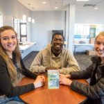 Gillette College Housing Inspiration Hall Students Studying