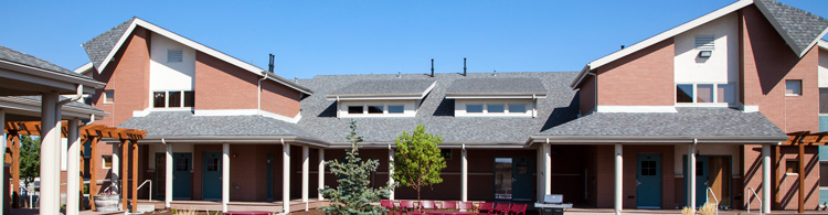 Gillette College Housing Tanner Village Front
