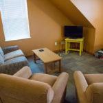 Sheridan College Student Housing Hanson sitting area