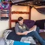 Sheridan College Student Housing Stevens Loft Ashley in room