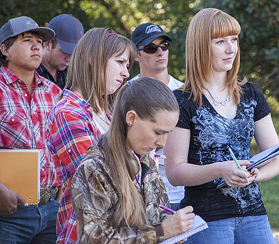 Study Agricultural Science Education at Sheridan College, Wyoming.