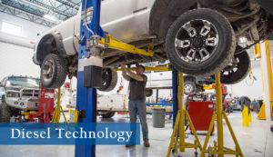 Earn a degree in Diesel Technology at Sheridan College and Gillette College.