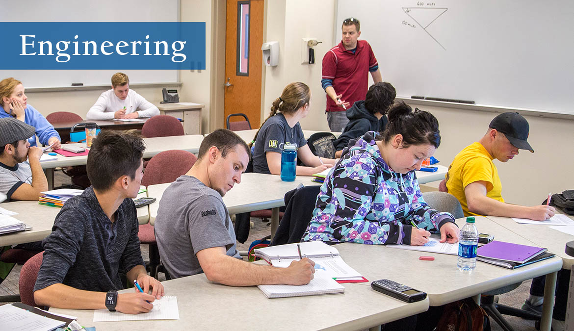 Earn your engineering degree at NWCCD.