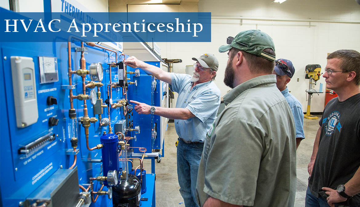 Begin your career with our HVAC Apprenticeship program.