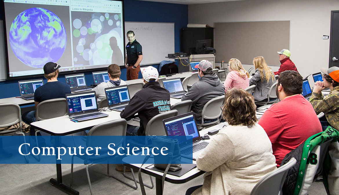 Earn your computer science degree online.