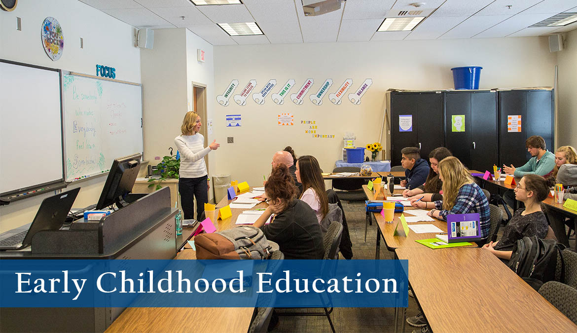 Earn your degree in Early Childhood Education from Sheridan College.