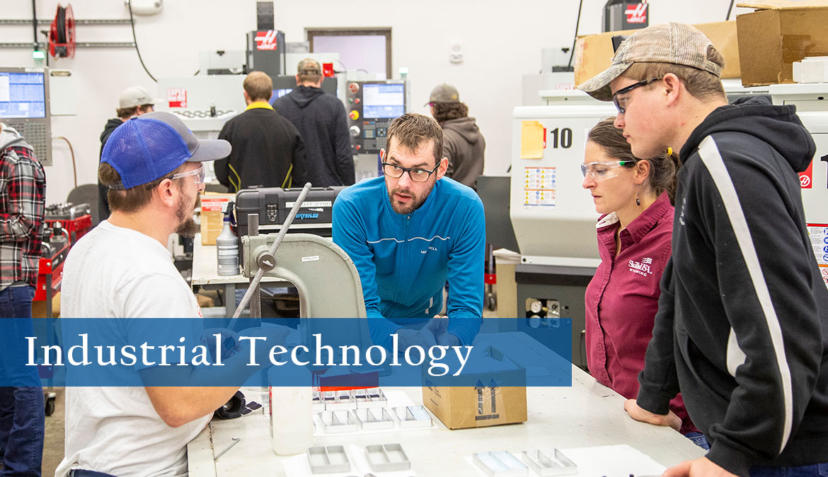 Study Industrial Technology at NWCCD.