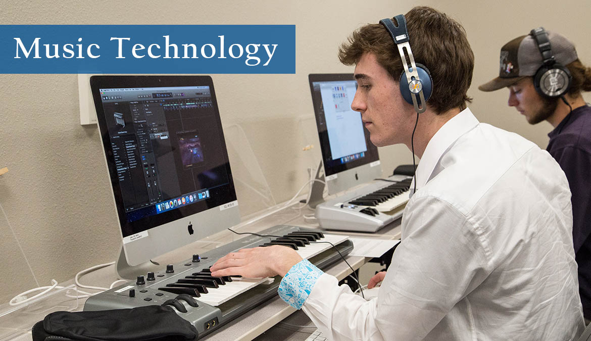 Earn your degree in Music Technology at Sheridan College in Wyoming.