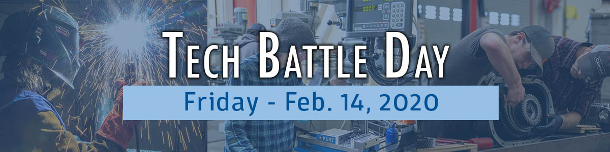 Register for Tech Battle Day at Gillette College.