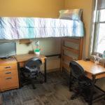 See the inside setup of Sheridan College residence hall room.