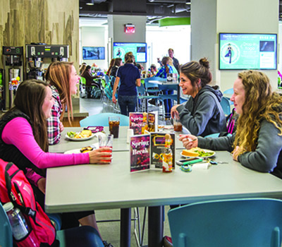 Campus dining at Sheridan College