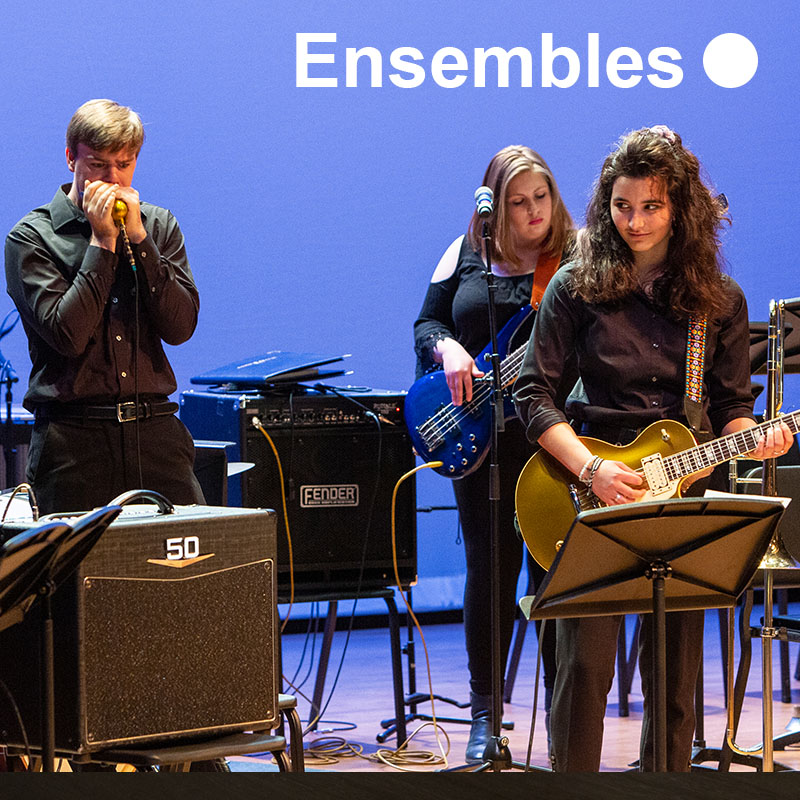 Learn more about the Sheridan College music ensembles you can be a part of.