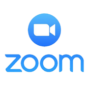Zoom video chat icon