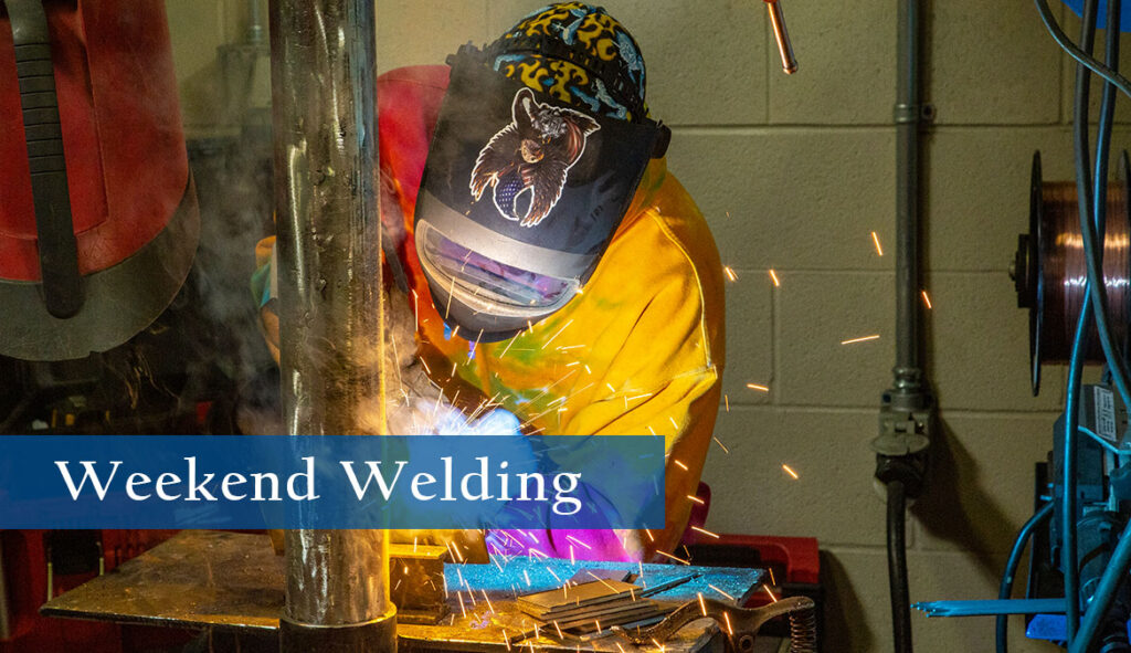 Weekend Welding program at Gillette College and Sheridan College.