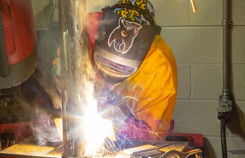 Weekend Welding Degree at Sheridan College and at Gillette College.